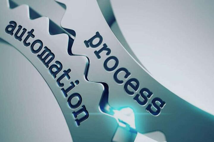 Process and automation text on the mechanism of gears - ap automation concept design